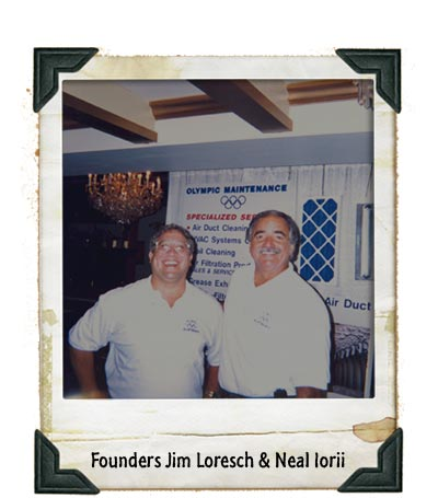 Founders Jim Loresch and Neal Iorii